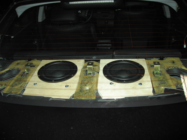 Replacing Rear Deck W Subs